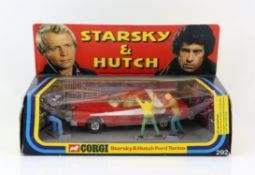 Corgi Toys model no. 292 Starsky & Hutch Ford Torino, with all three figures present and in