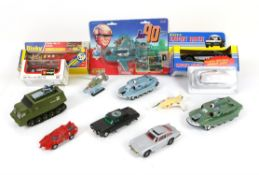 Die-cast Toys mainly from TV, boxed and unboxed including Ertl Knight Rider, Dinky Paramedic Truck