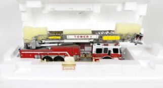 Franklin Mint Emergency E-One Fire Engine, 1:32 scale, (boxed),