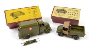 Britains Mechanised Transport of the British Army 'Beetle Lorry', in red card box,