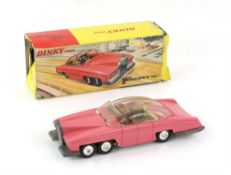 Dinky Toys - No 100 Lady Penelope's FAB 1 diecast model, boxed with inner tray and two figures.