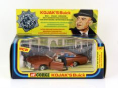 Corgi Toys model no. 290 Kojak's Buck, with figures present and in original box.
