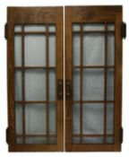 Abbey Road Studios - Original wooden doors from the entrance foyer of Abbey Road Studios that date
