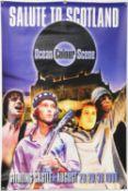 Ocean Colour Scene - concert poster for performances at Stirling Castle, Scotland, 28th,