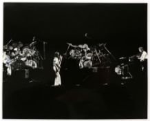 Genesis & related collection including an autographed b/w photo of the band playing live (signed by