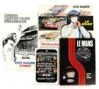 Le Mans (1971) A Cinema Center Films Press Book - 22 pages - including details of promotional