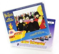 The Beatles - four original proof posters for Yellow Submarine and No 1 album artwork and two sets