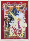 Fleetwood Mac interest - a group 8 of posters including a limited edition Stevie Nicks screen print