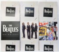 The Beatles - 'Anthology' Promotional full size shop display standee, and another for the album 1,