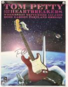 Tom Petty and the Heartbreakers - a group of 10 concert and tour posters including a poster for the