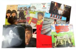 25+ Vinyl LPs including Beatles For Sale, Sgt. Peppers Lonely Hearts Club Band, Lennon Plastic Ono