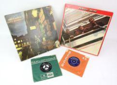 Vinyl - David Bowie Ziggy Stardust LP SF 8287 LSP 4702, The Beatles 1962-1966PCSP 717,