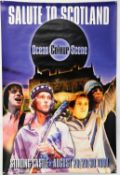 Ocean Colour Scene - Britpop concert poster for Stirling Castle, Scotland, 28th-29th-30th Aug 1998,