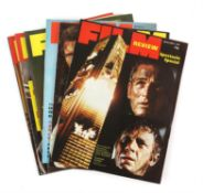 Large collection of Film Review, Kine Weekly, Film Monthly, ABC Film Review and other magazines,