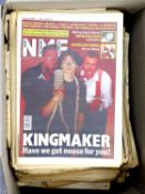 A collection of 80 + NME newspapers from the late 1970s - early 1980s.