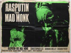 30+ British Quad film posters including Batman and Robin, The Great Escape (RR), Rasputin The Mad