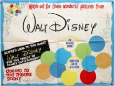 20 Disney British Quad film posters including Davy Crockett and the River Pirates, Boatniks,
