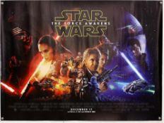50+ British Quad film posters - including Star Wars: The Force Awakens, Highlander II,