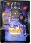 12 US One Sheet film posters including The Empire Strikes Back special edition, Godzilla 1998,