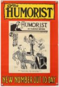 The Humorist - Five original UK magazine posters 1925-30, with artwork by five different artists