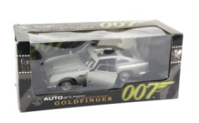 James Bond 007 - An Autoart 1:18 scale Aston Martin DB5, modelled on the vehicle in the film