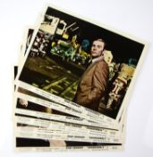 James Bond Thunderball (1965) Set of 8 Front of House cards, 10 x 8 inches (8).