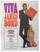 James Bond From Russia With Love (R-1970's) Viva Bond French Grande film poster, United Artists,