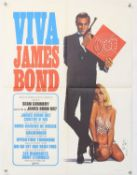 James Bond From Russia with Love (1963) French Medium poster (R 1970s), signed by the artist Yves