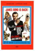 James Bond From Russia With Love (1963) UK Exhibitors' Campaign Book with synopsis, 10 x 14.