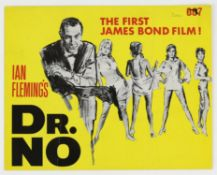 James Bond Dr. No (1962) Original Synopsis for the first 007 movie, 8 x 10 inches.