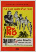 James Bond Dr. No (1962) UK Exhibitors' Campaign Book (back page missing), 10 x 14 inches.