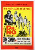 James Bond Dr. No (1962) UK Exhibitors' Campaign Book, with insert, 10 x 14.5 inches.
