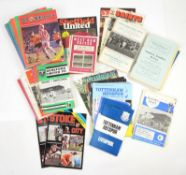 Approx. 1200 Football Programmes - relating to various English clubs inclduing Manchester United,