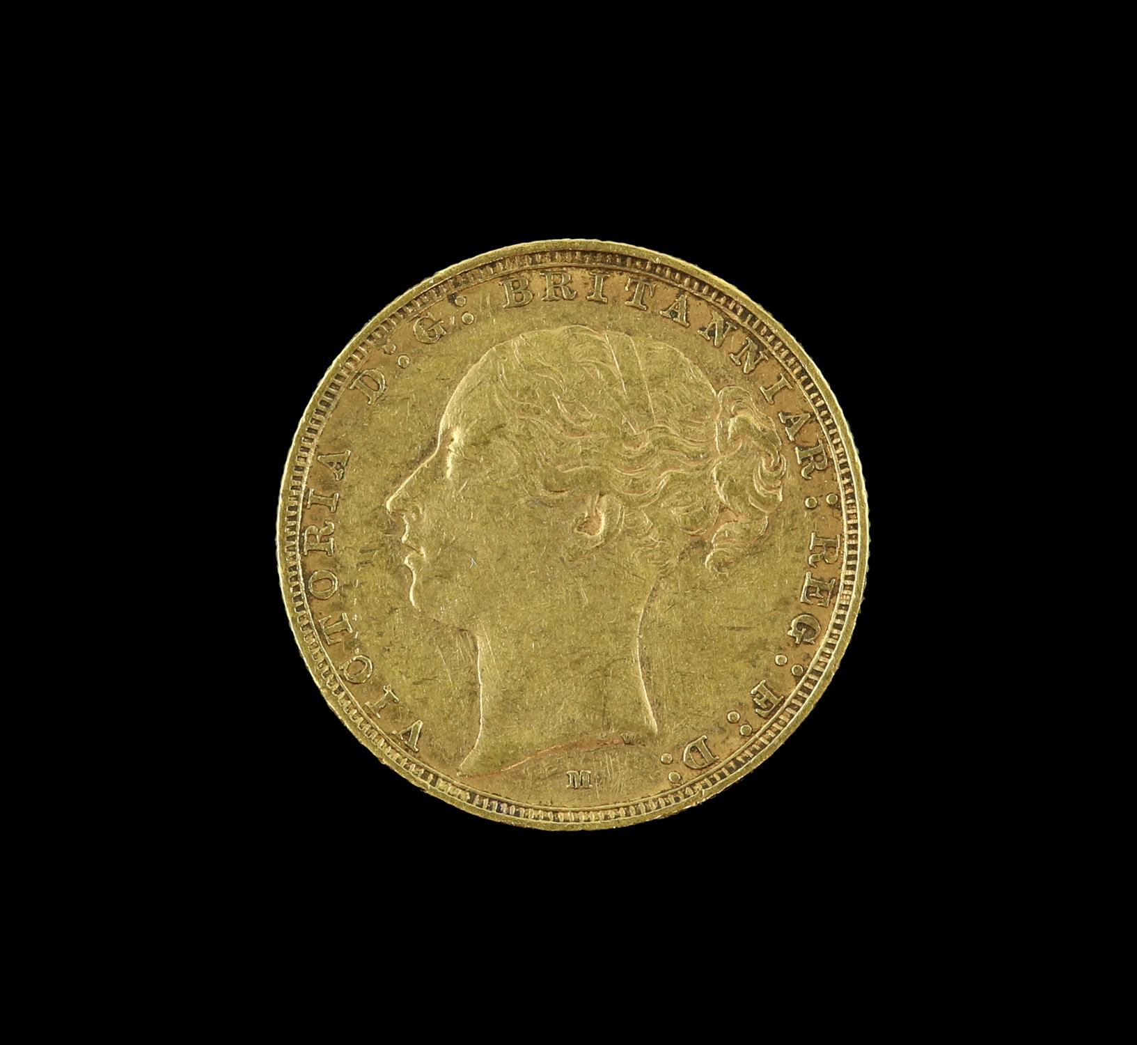 Victorian gold sovereign 1886, young head - Image 2 of 2