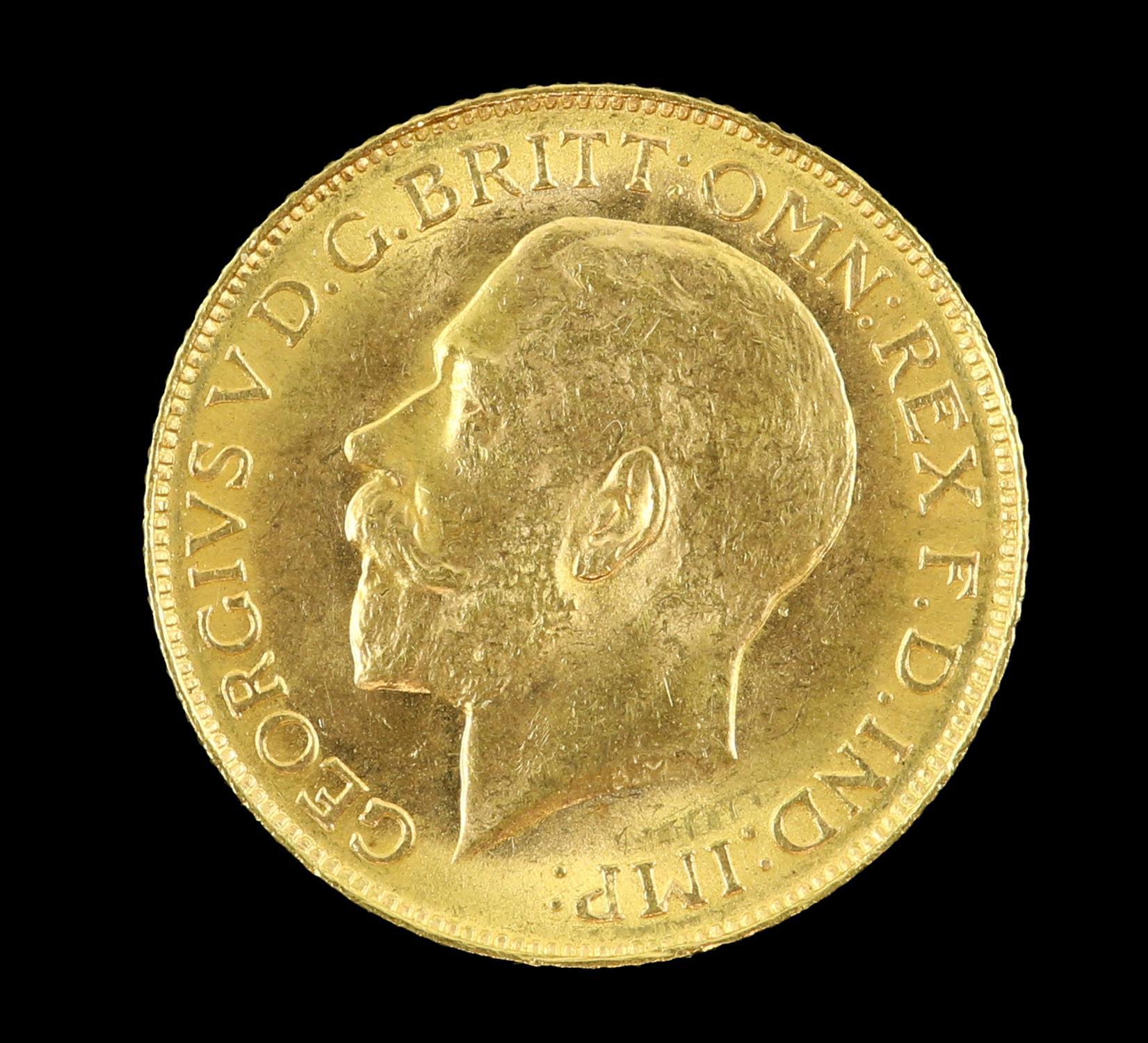 George V gold sovereign 1911 - Image 2 of 2