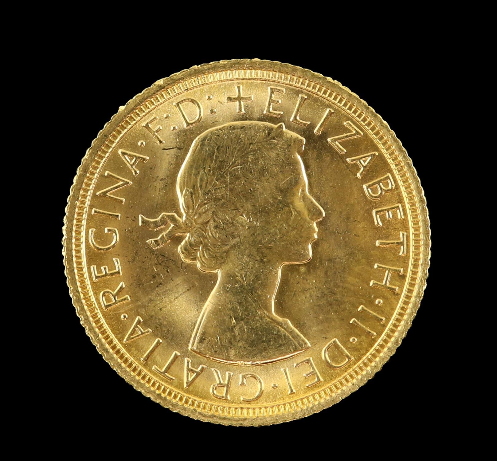 Elizabeth II gold sovereign 1967 - Image 2 of 2