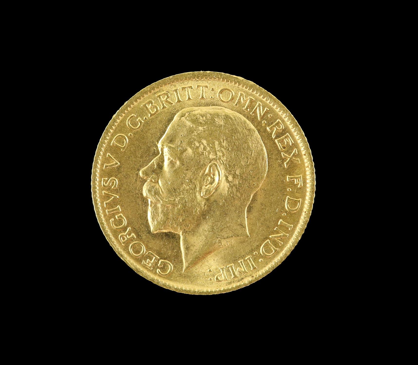 George V gold sovereign 1914 - Image 2 of 2