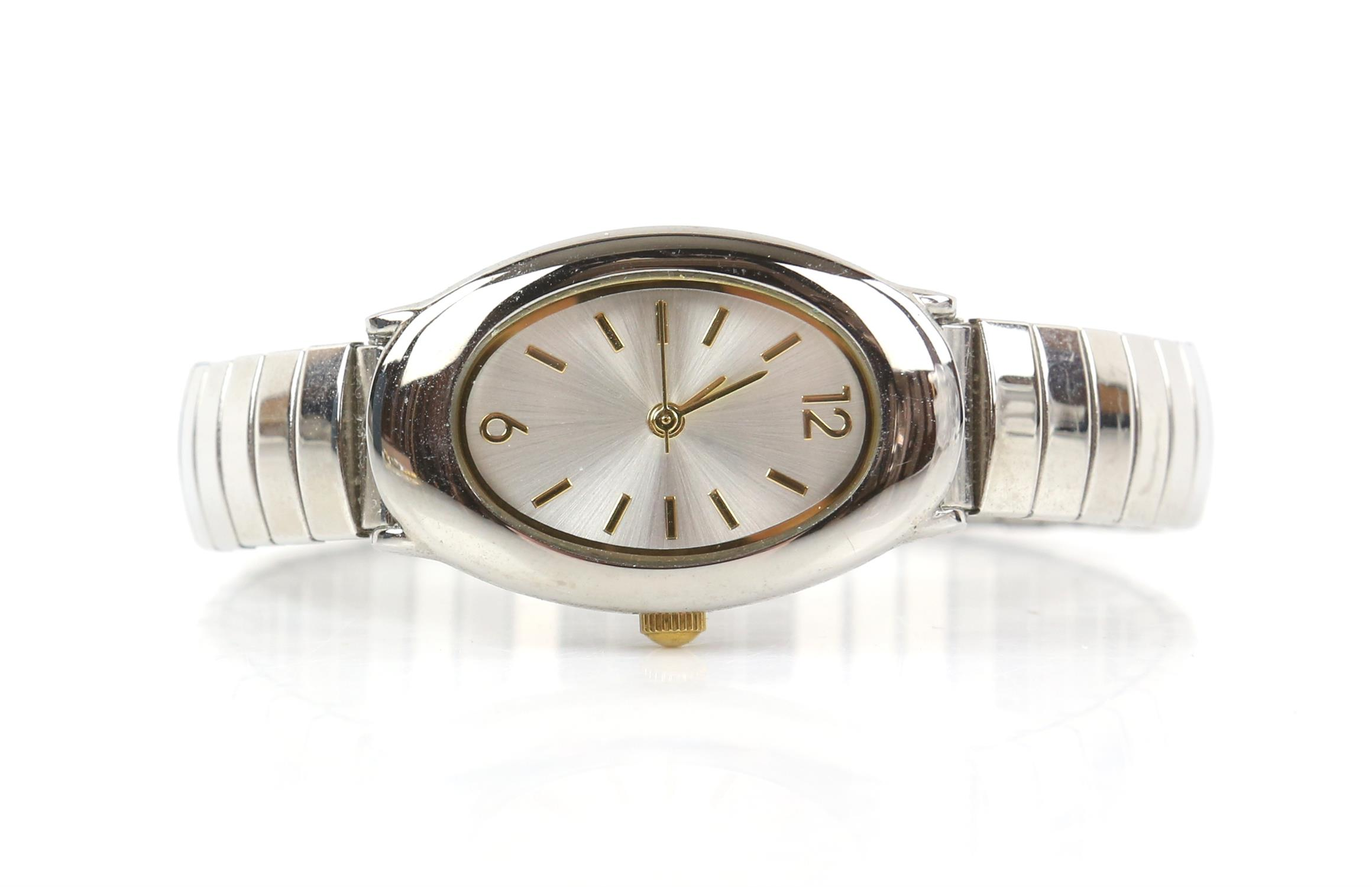 Raymond Weil, A Gentleman's reference 6549 dress watch with white enamel dial, baton hour markers, - Image 10 of 11