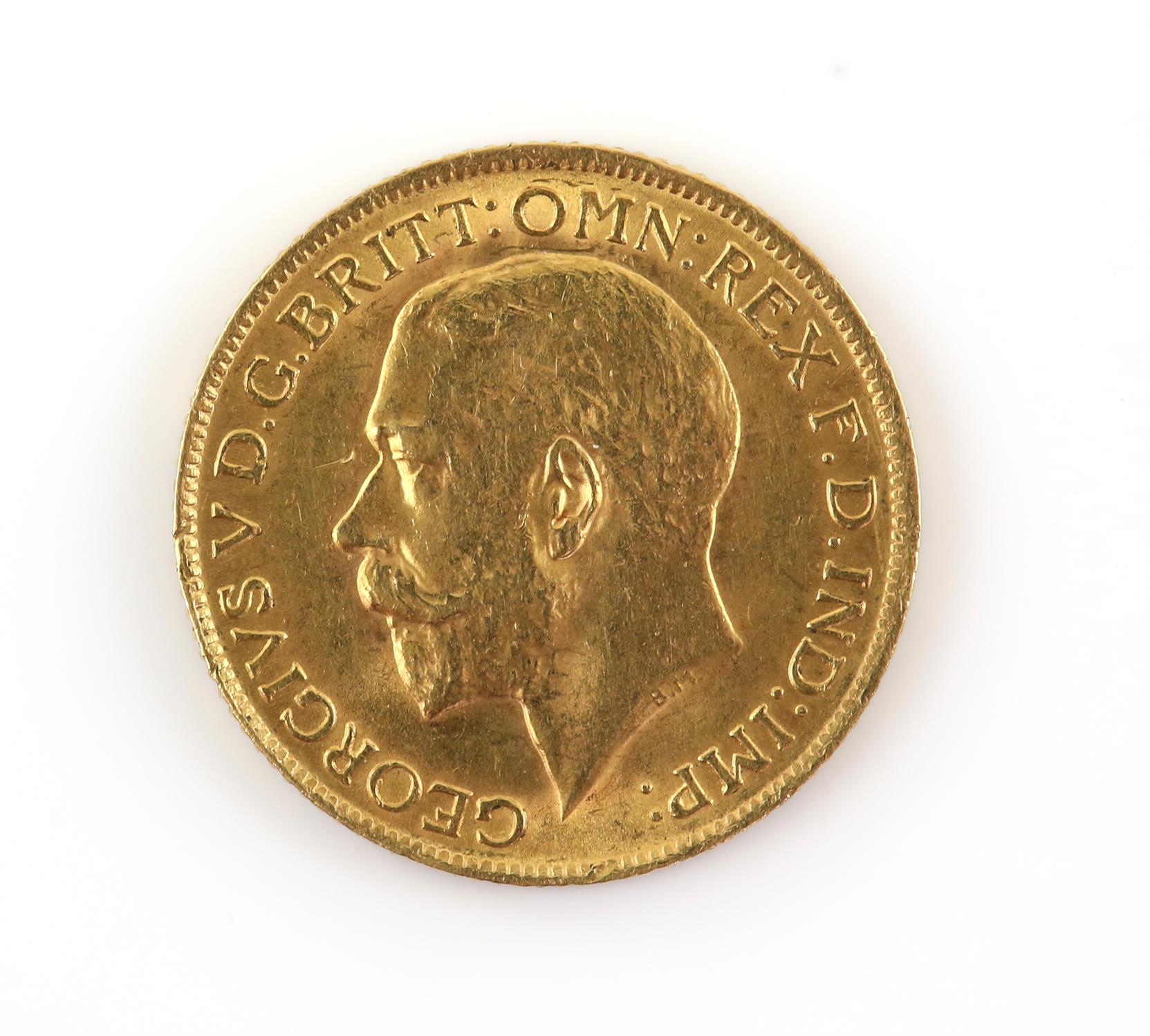 George V gold full sovereign, dated 1914 - Image 2 of 2