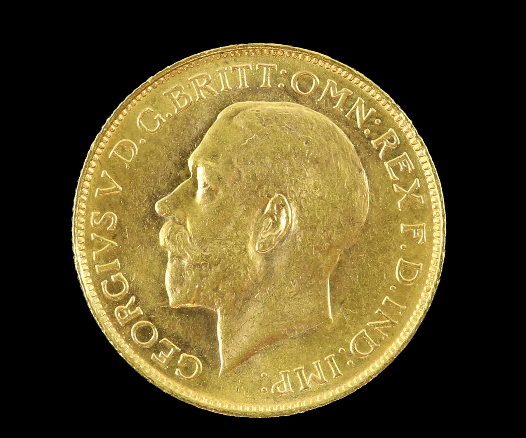 George V gold sovereign, South Africa 1928 - Image 2 of 2