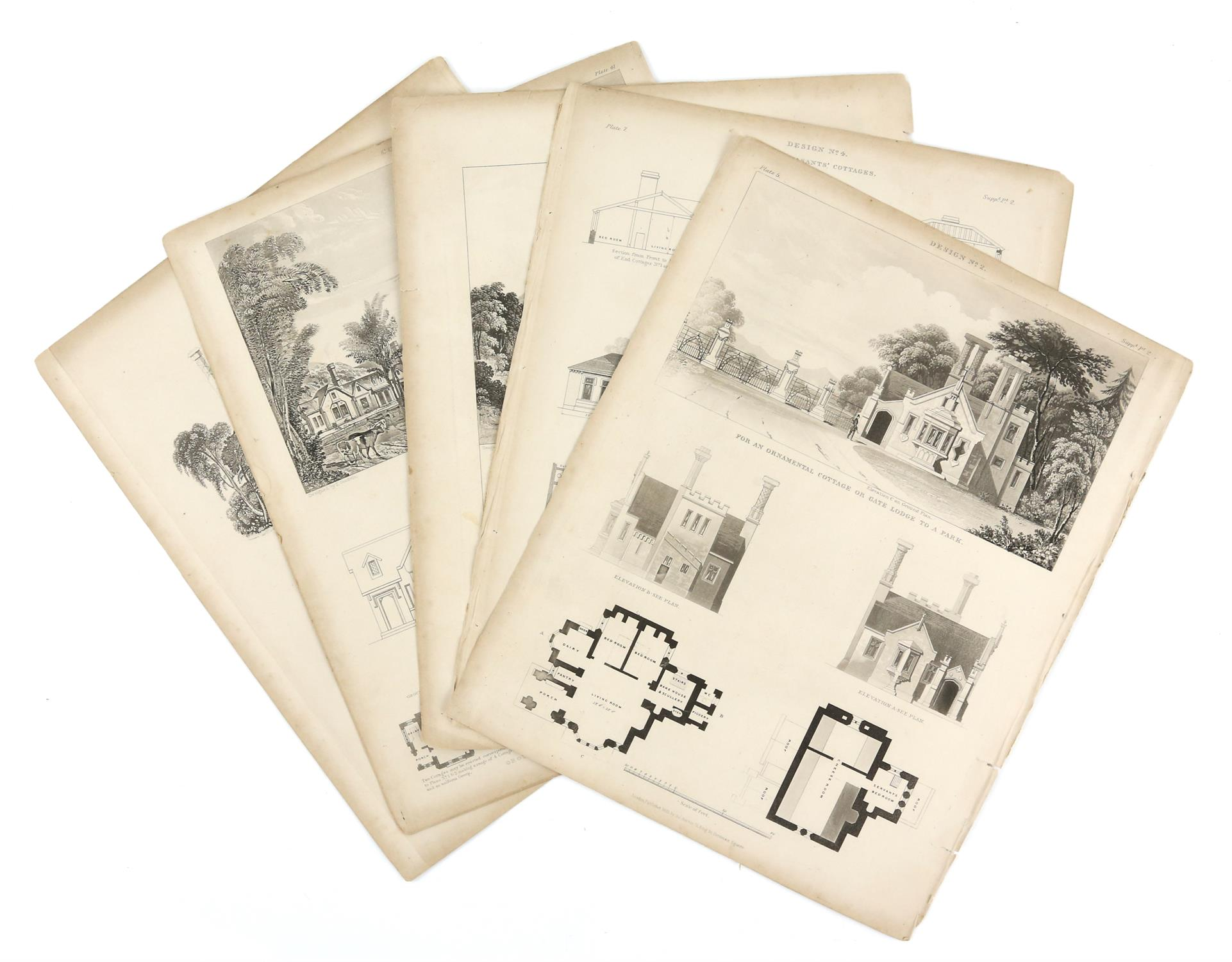 Large quantity of 18th and 19th century topographical engravings. Approx. 200 including 50+ London - Image 2 of 6