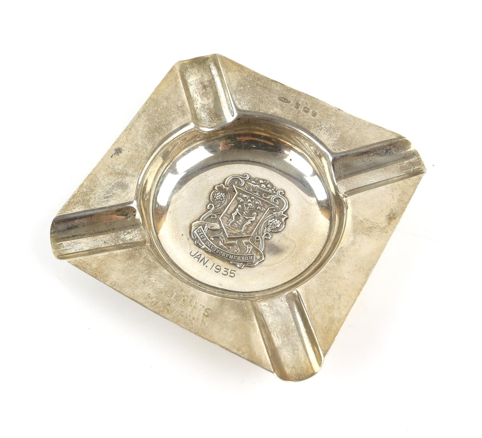 The Worshipful Company of Fruiterers, 5 spoons and 3 ash trays, together with two golfing tea - Image 2 of 11
