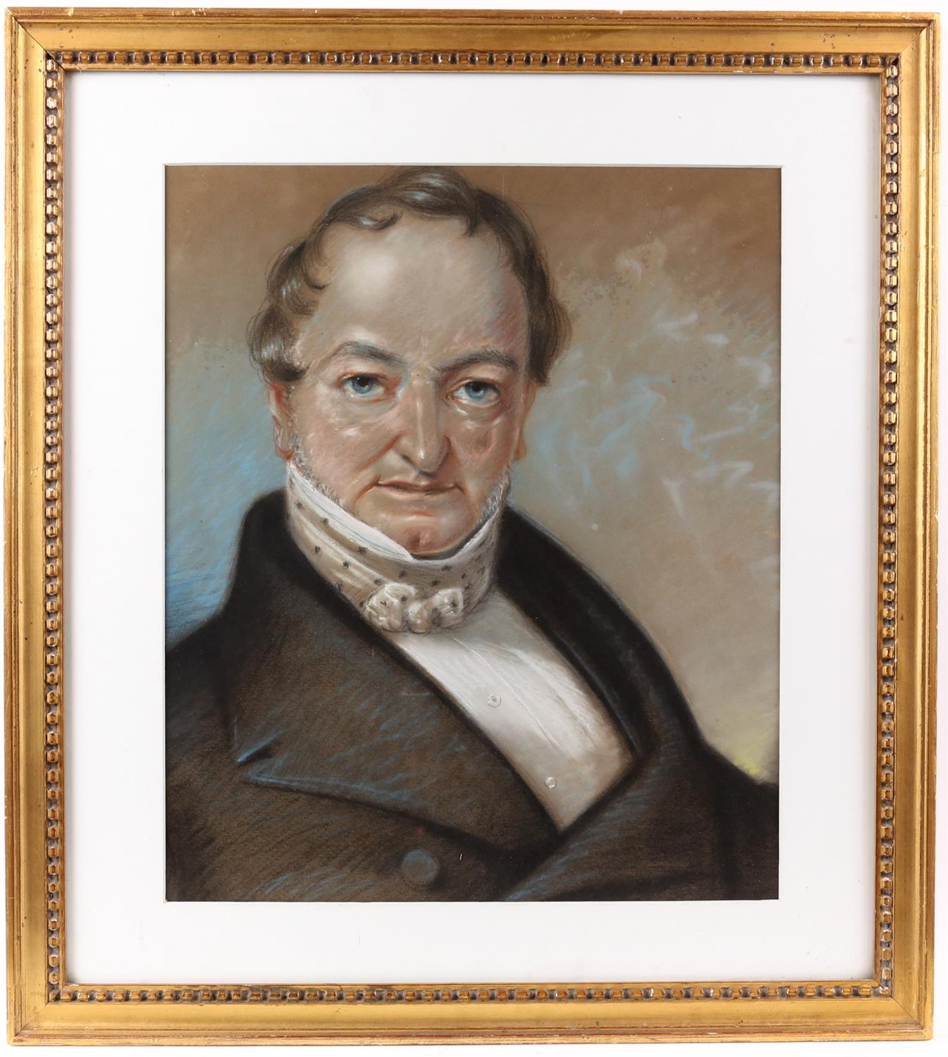 Portrait of a Gentleman, pastel. Circa 1820. 42 x 32.5cm. Framed and glazed. - Image 2 of 3