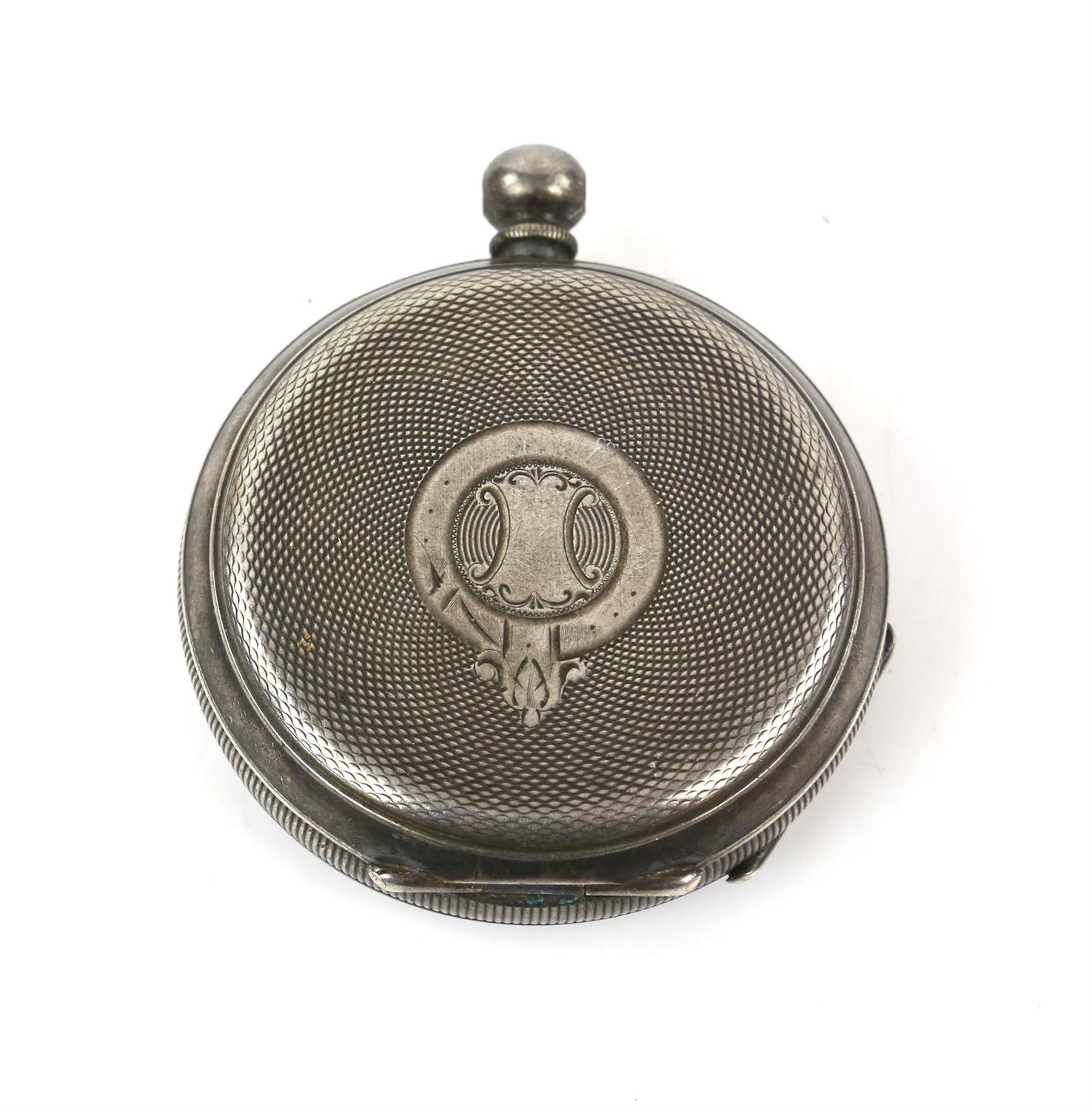 Selection of four continental silver 800 to 935 grade pocket watches - Image 6 of 14