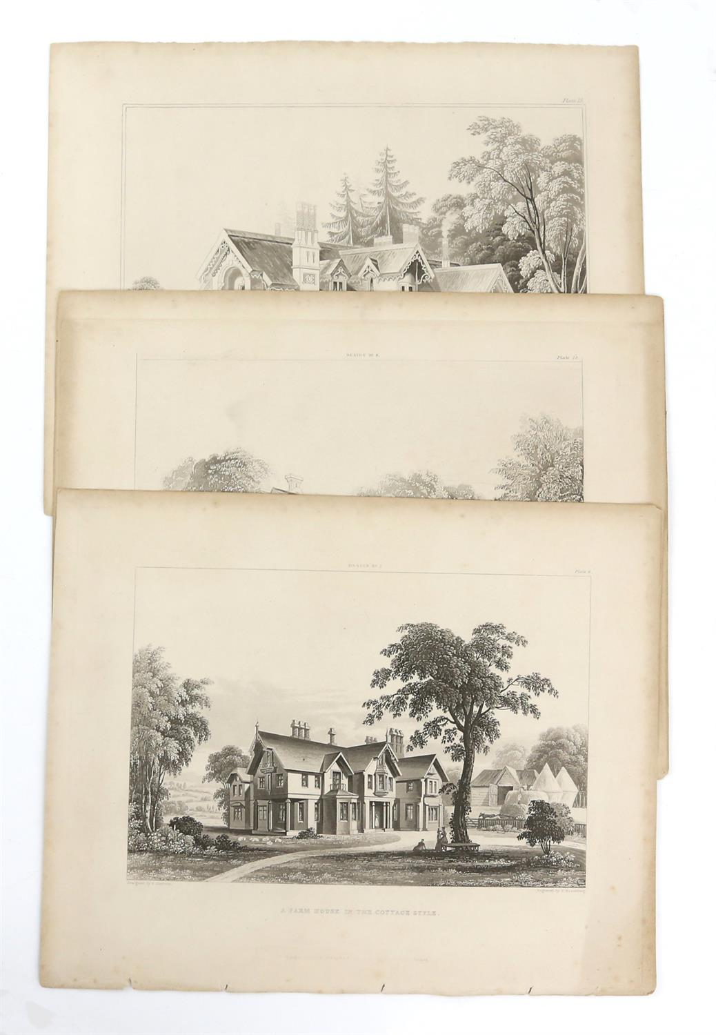 Large quantity of 18th and 19th century topographical engravings. Approx. 200 including 50+ London - Image 6 of 6