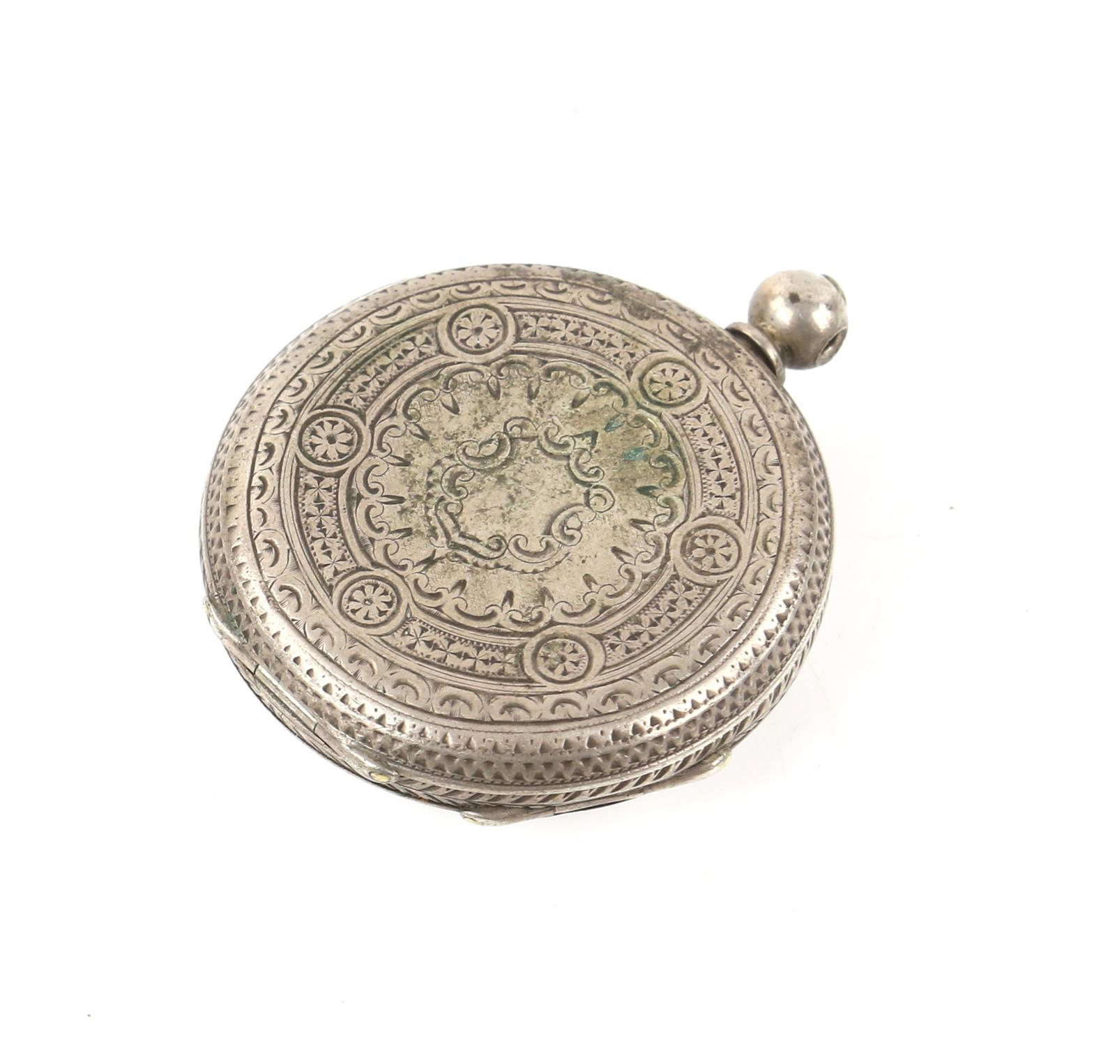 Selection of four continental silver 800 to 935 grade pocket watches - Image 9 of 14