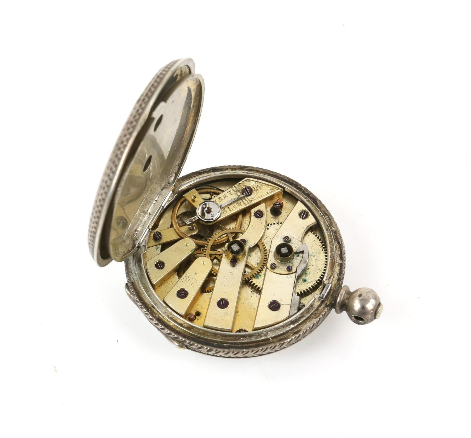 Selection of four continental silver 800 to 935 grade pocket watches - Image 11 of 14