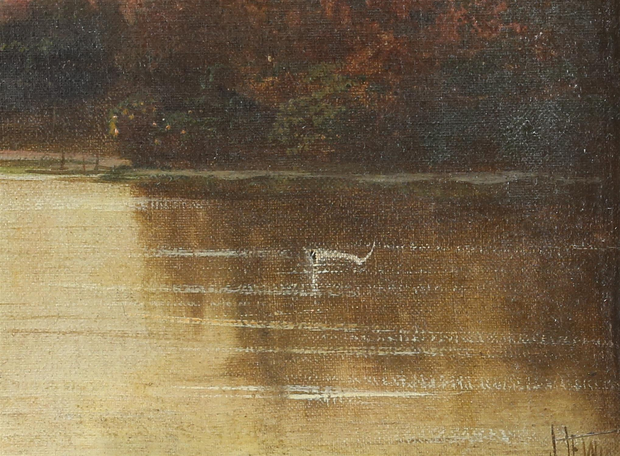 James Isiah Lewis (British, 1860-1934), Star and Garter, Richmond on Thames, View from Marble Hill - Image 4 of 5