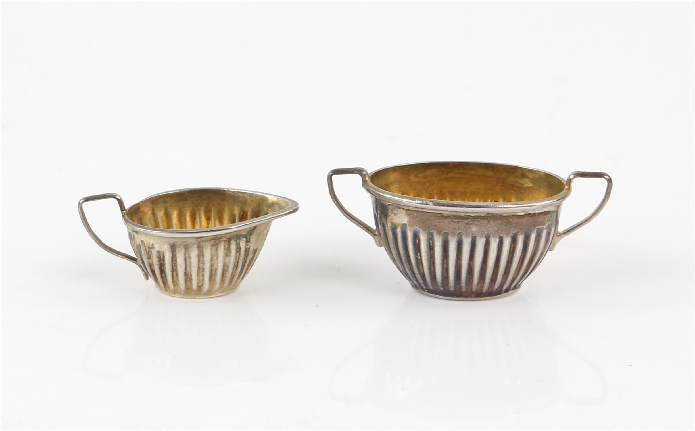 Pair of oval pierced silver bon-bon dishes, by Robert Pringle & Sons London 1927, - Image 11 of 11