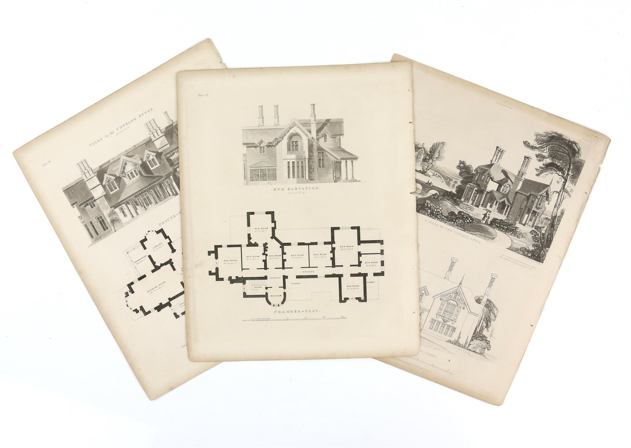 Large quantity of 18th and 19th century topographical engravings. Approx. 200 including 50+ London - Image 3 of 6